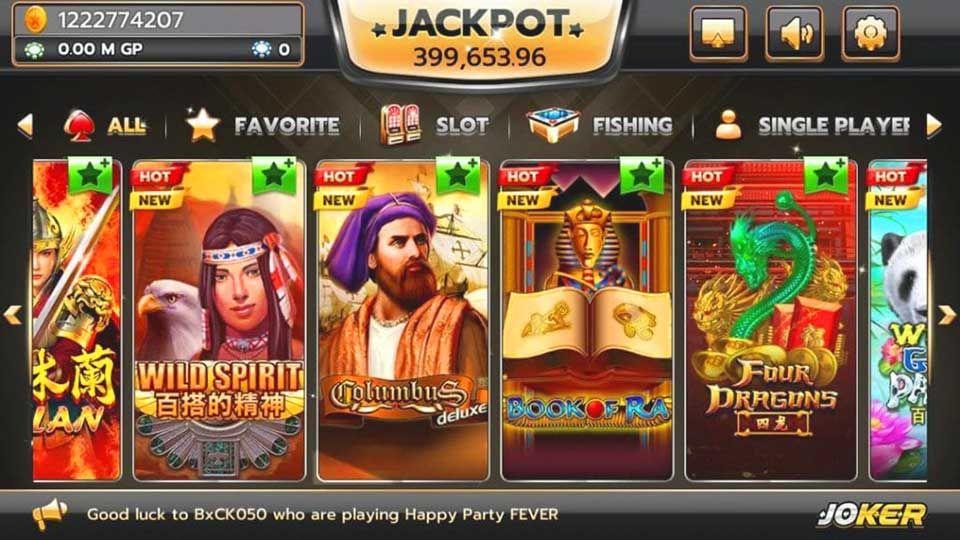 Try Joker 123 for Online Gambling